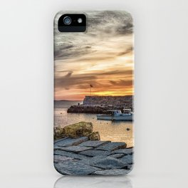 Lobster Trap sunset at lanes cove iPhone Case