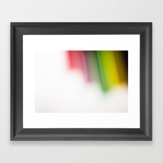 Paint Your Life Framed Art Print