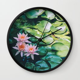 Beauty in the Shadow Wall Clock