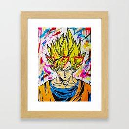 Kakarot Framed Art Print