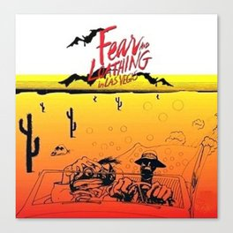 Fear and Loathing in Las Vegas- Desert Canvas Print