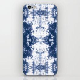 Shibori 6 Indigo Blue iPhone Skin