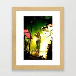Lights - Siberia Framed Art Print