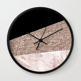 Black Forest Marble Wall Clock