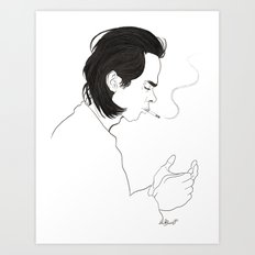 Nick Art Print