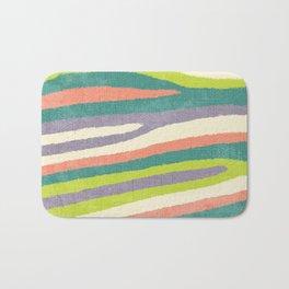Fruit Stripes. Bath Mat