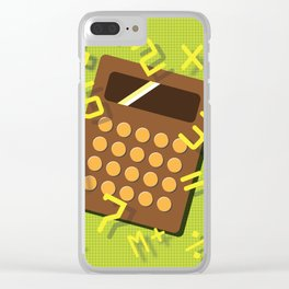 Numeric Escape Clear iPhone Case