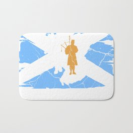 Scotland Gift Edinburgh Alba United Kingdom Bath Mat
