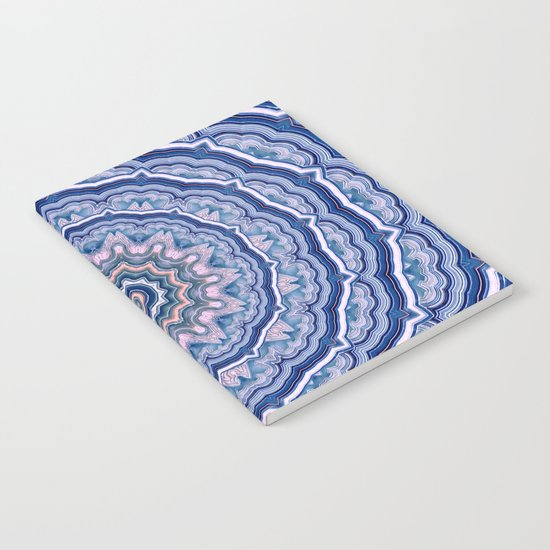 Agate Mandala Notebook