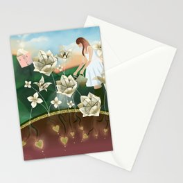 Origami Garden Stationery Cards