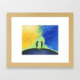 Avrora Borealis Framed Art Print