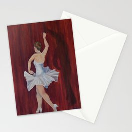 Dancing with Shadows 2 Stationery Cards