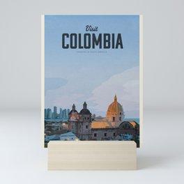 Visit Colombia Mini Art Print