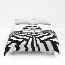 Ripplescape #2 Comforters