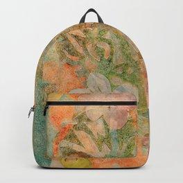 Tiki Flower Backpack