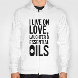 CUTE PRETTY ESSENTIAL OIL DIFFUSER designS - LIVE LOVE Hoody