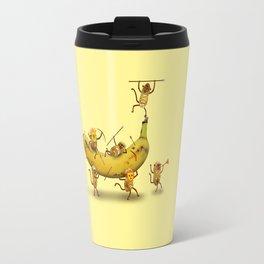 Monkeys are nuts! Travel Mug
