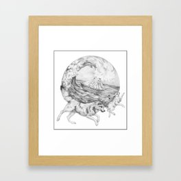 Sea Wolf Framed Art Print
