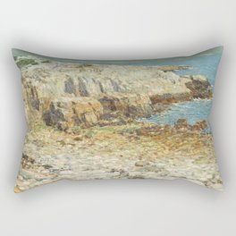 Childe Hassam A North East Headland 1901 Painting Rectangular Pillow