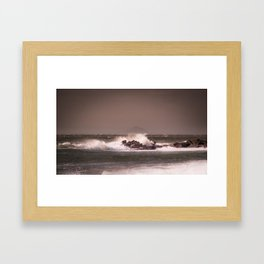 Across to Bass Rock Framed Art Print
