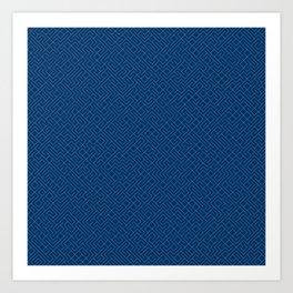 10 Print: Thin Blue Art Print