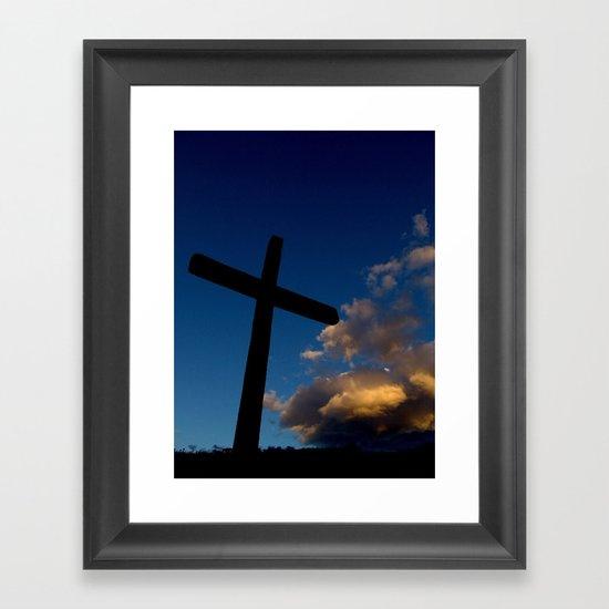 Dawn of faith Framed Art Print