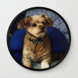 The Cute Pup Wall Clock
