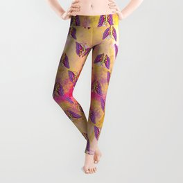 Coolorful Butterfly Leggings