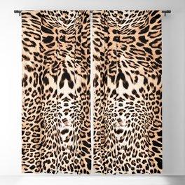 Wild Leopard Blackout Curtain