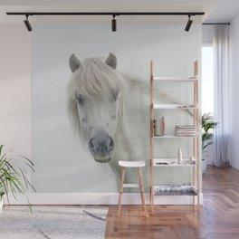 Horse eyes look at you Wall Mural