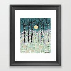 :: Moonlight Kiss :: Framed Art Print