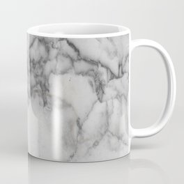 Black and White Marble Coffee Mug
