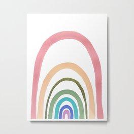 Rainbow Fairyland Metal Print