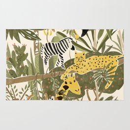 Th Jungle Life Rug