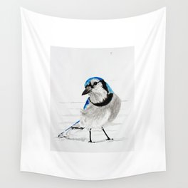 Blue Jay (Cyanocitta cristata) Wall Tapestry