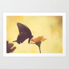 Shadow Dancing on the Wind Art Print