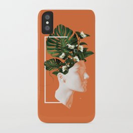 minima Lady Flowers iPhone Case