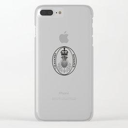 Caledonia Interpol Clear iPhone Case