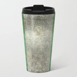 National flag of Nigeria, Vintage textured version Travel Mug