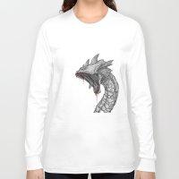 hydra Long Sleeve T-shirts featuring Hydra by Sara Saeed