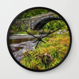 Beaver Bridge Wall Clock