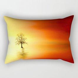 OCEAN TREE Rectangular Pillow