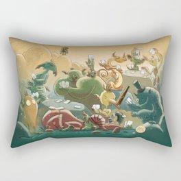 Goblins Drool, Fairies Rule! - Team Goblin Rectangular Pillow