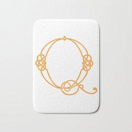 Celtic Knot Initial Q Bath Mat