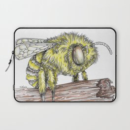 The Fluffy Bee Laptop Sleeve