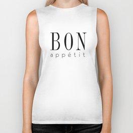 Bon Appetit – Quote Biker Tank