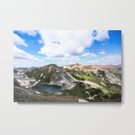 Capitol Lake Metal Print