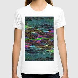 Evening Pond Rhapsody Abstract T-shirt