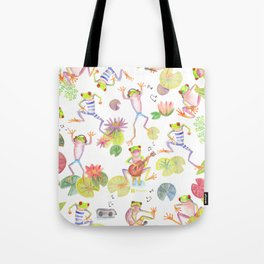 Party frogs Tote Bag