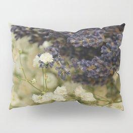 Lavender on gypsophila Pillow Sham
